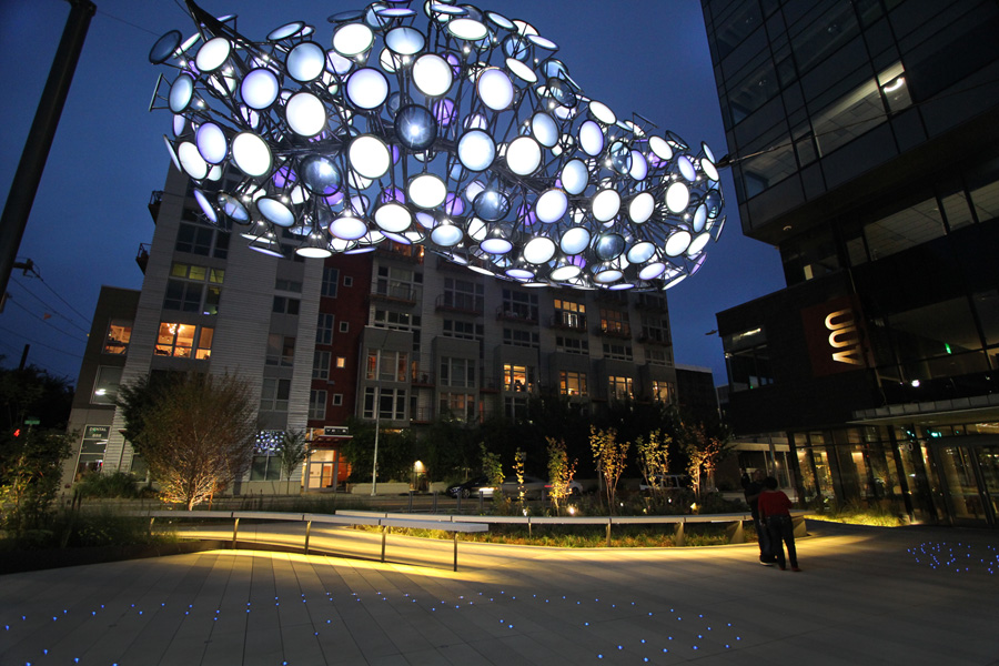 Glass, transparent conducting film, aluminum, photovoltaics, LEDs and electronics